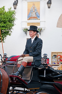 Carriage driver in Seville