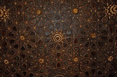 Ceiling in one of the Casa de Pilatos rooms