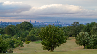 View from Epsom Downs