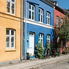 colorful facade of houses in Copenhagen