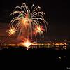 Firework on Bastille Day