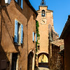 Old city of Rousillon, France