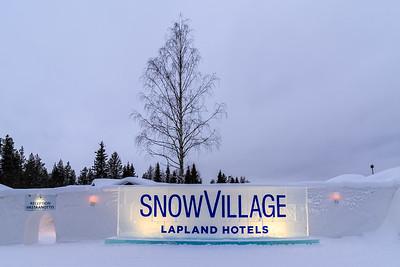 Lainio Snow Village