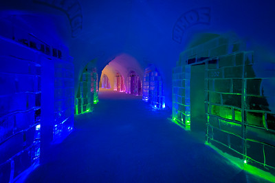 Luvattumaa Ice Gallery