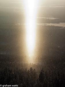 Levi_shaft_of_light_over_pines