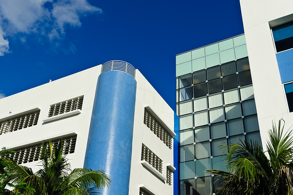 Modern and Art Deco mix at Miami South beach