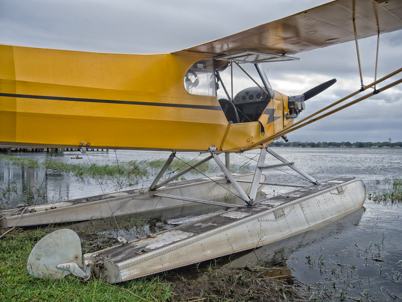 Piper Cub Seaplane at Browns Seaplane base, FL