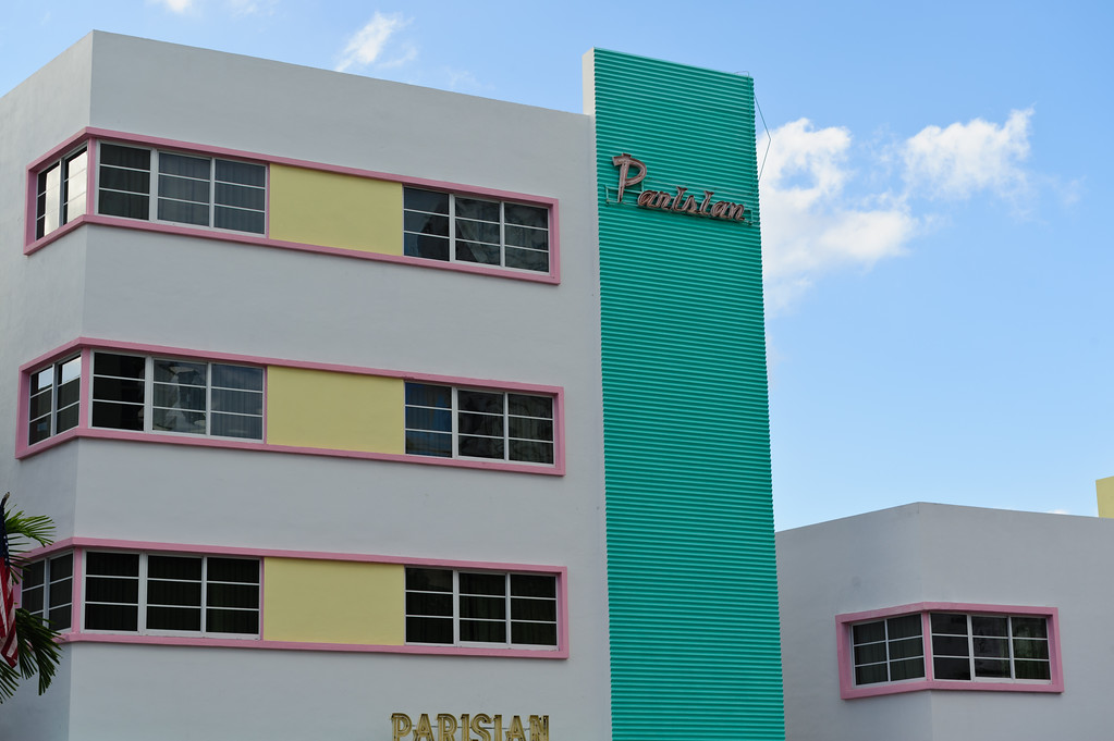 Parisian hotel at Miami South beach