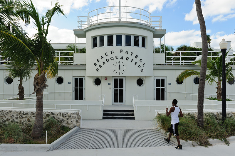 Beach Patrol HQ at Miami  South beach