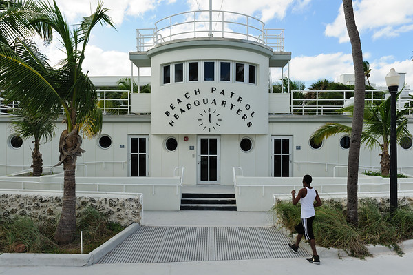 Beach Patrol HQ at Miami  South beach
