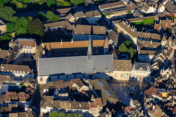 Aerial of Beaune