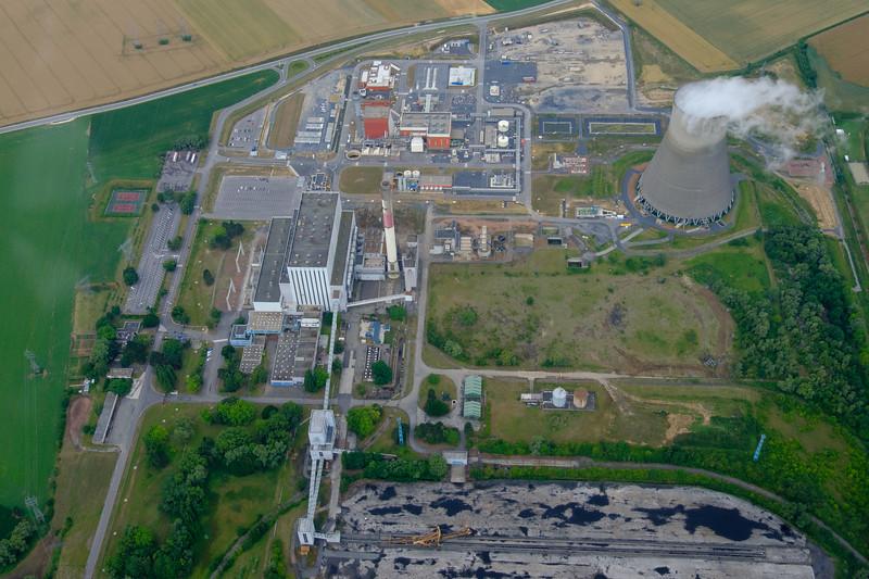 Powerstation running on coal