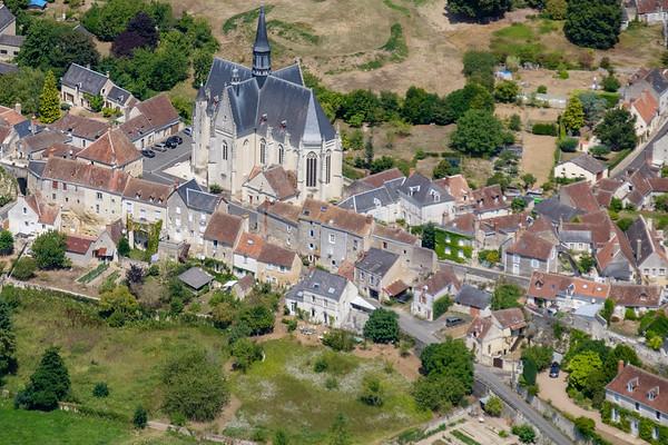 Church of Montresor, France