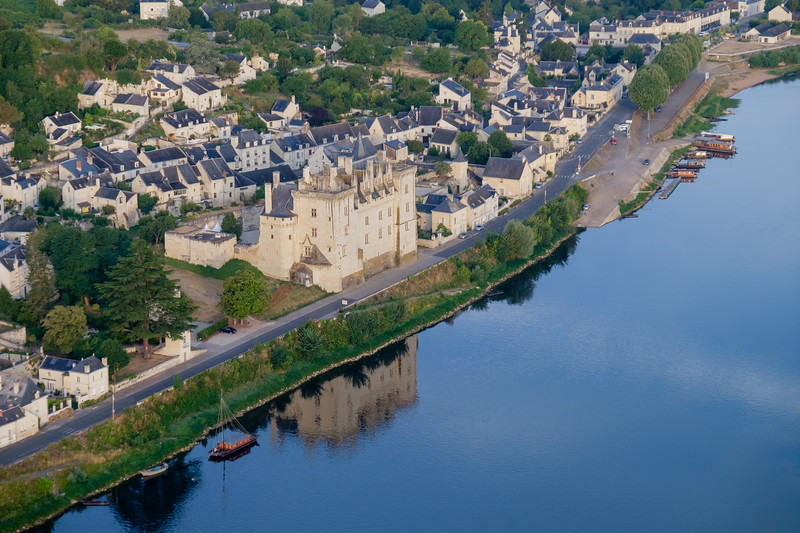 Early morning along the river Loire
