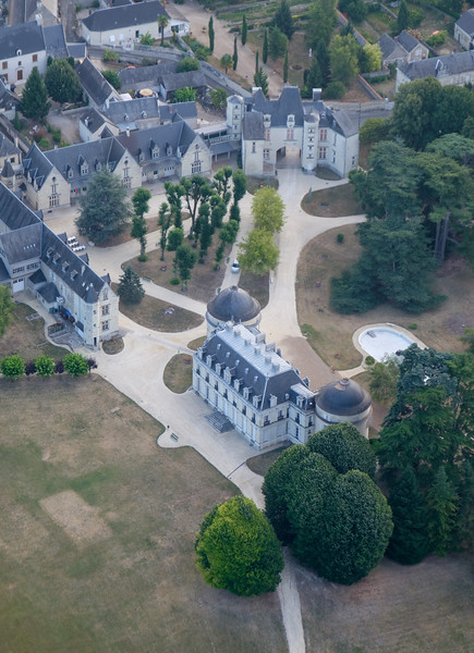 Small private castle East of Langeais.