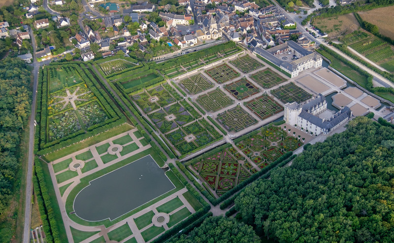 Gardens of  the Château de Villandry