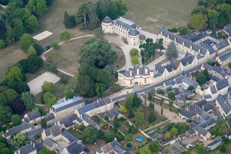 Castle East of Langeais