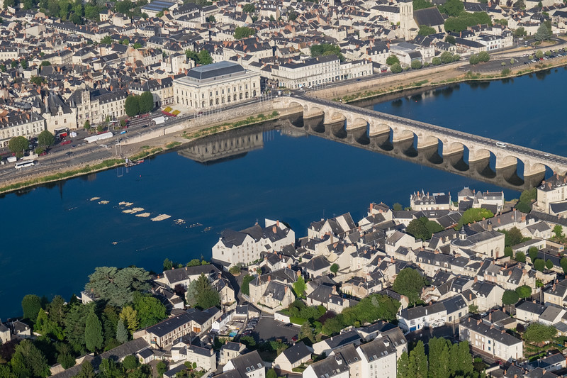 Saumur early morning