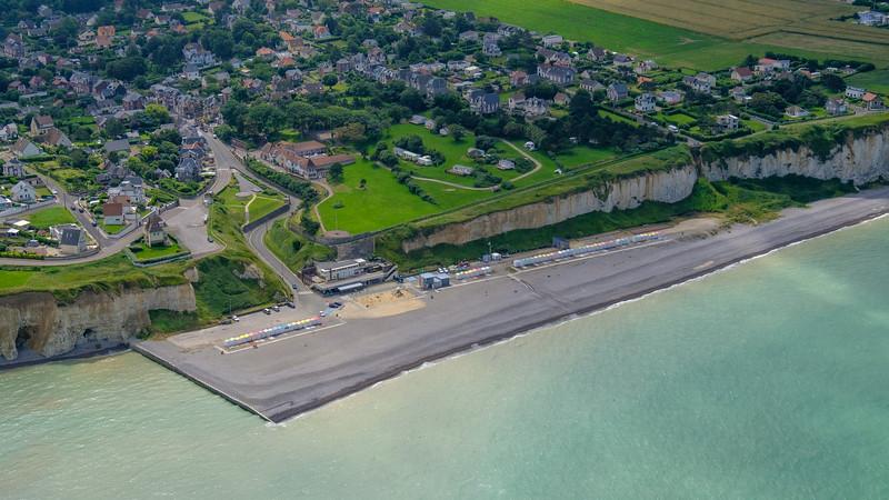 Mers les Bains close to Le Tréport