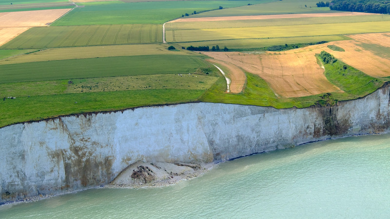 White cliffs of Normandy