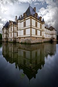 The Château de Cormatin, Burgundy.