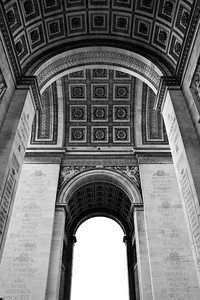L'Arc de Triomphe Paris, France — May 2009