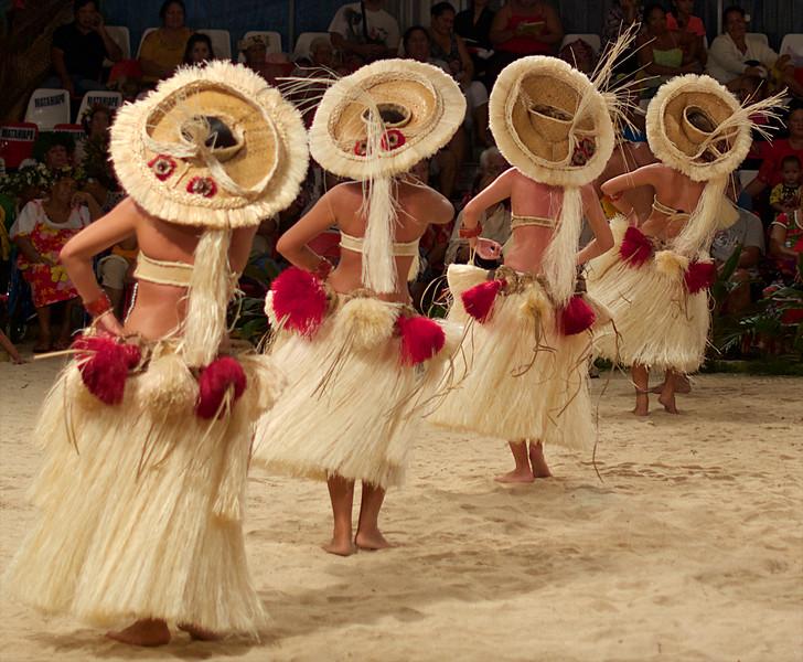 From the Raiatea dance competition.