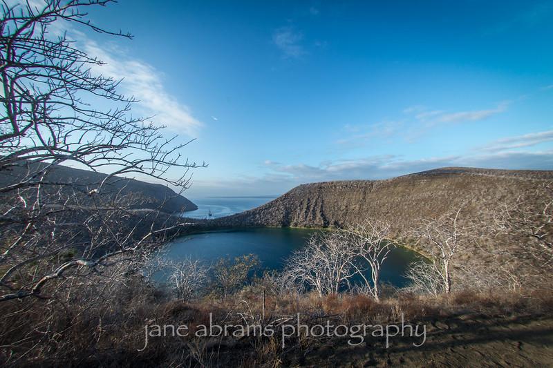 Darwin Lake, Tagus Cove, Fernandina Island