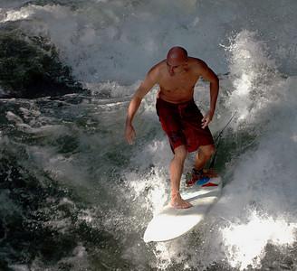 Surfing in Munich - A surprise