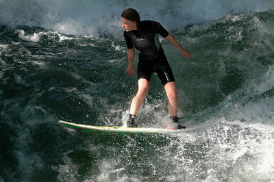 Surfing in Munich - A surprise