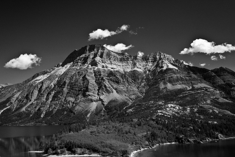 Glacier National Park, Montana & Waterton Lakes National Peace Park Alberta and British Columbia Canada.