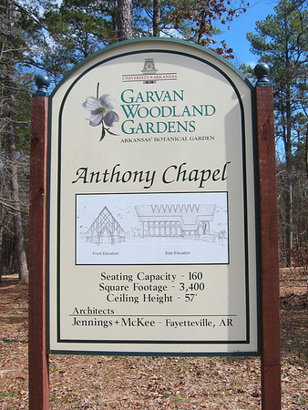 Anthony Chapel, Garvan Woodland Gardens, Hot Springs, Arkansas (1)