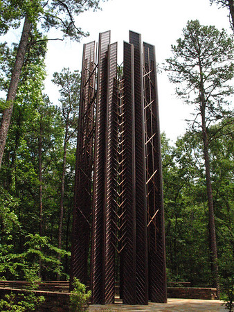 Anthony Carillon Tower, Garvan Woodland Gardens, Hot Springs, Arkansas (1)