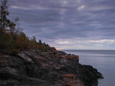 Sunrise at Grand Marais MN  2012 Sep
