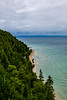 "USA; Michigan; Mackinac Island State Park; Mackinac Island; St Ann""s Cematery; Ft Mackinac Shooting Range; Arch Rock"