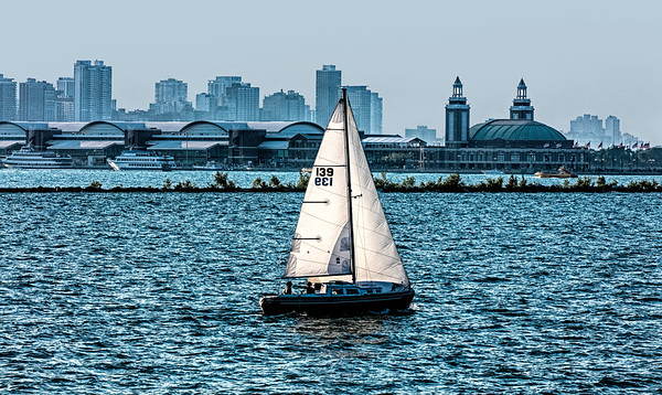 USA; Illinois; Chicago; Burnham Harbor