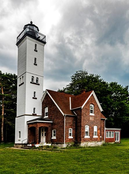 USA; Lake Erie; Pennsylvania; Erie; Presque Isle Lighthouse; Presque Isle State Park
