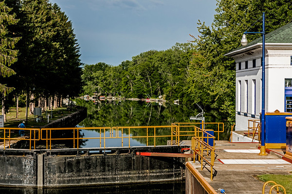 Brewerton; Erie Canal System; Lock #23; New York State; USA