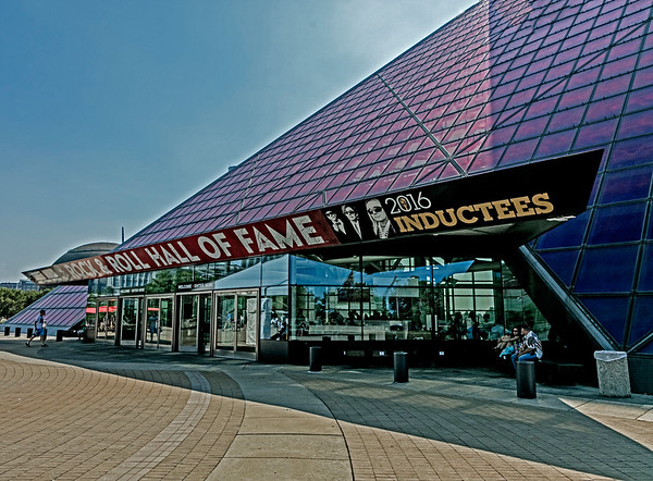 Cleveland; Ohio; Rock & Roll Hall Of Fame; USA
