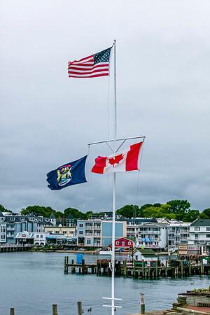 USA; Michigan; Mackinac Island; Lake Huron