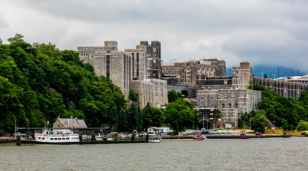 Hudson River; New York; New York State; USA; West Point