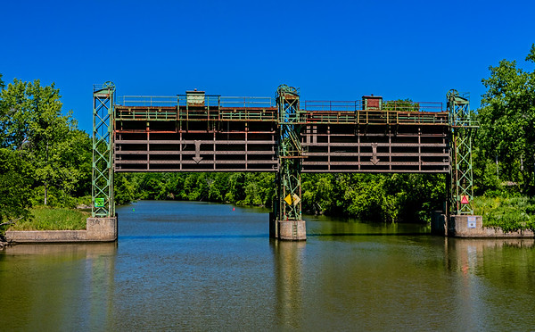 Erie Canal System; Mohawk River; New York State; USA