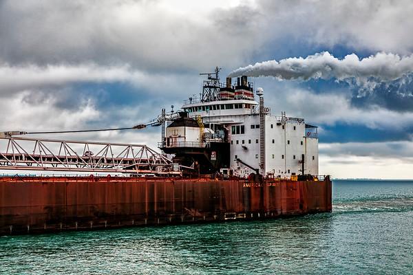 USA; Michigan; Lake St. Clair