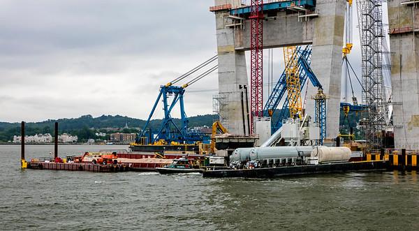 Hudson River; New York; New York City; Tappan Zee Bridge; USA