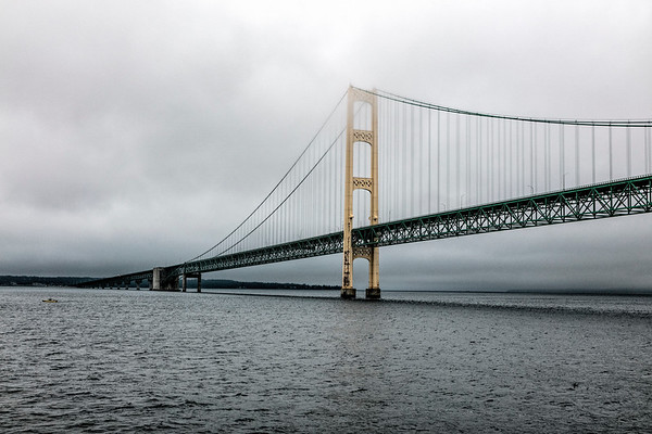 USA; Michigan; Mackinac Bridge