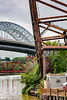 USA; Ohio; Cleveland; Cuyahoga River