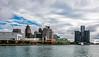 USA; Michigan; Detroit River; Detroit