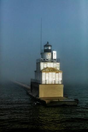 USA; Wisconsin; Lake Michigan; Manitowoc; Manitowoc Light House
