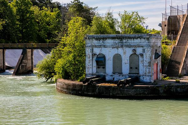Canada; Lock#1; Ontario; Welland Canal