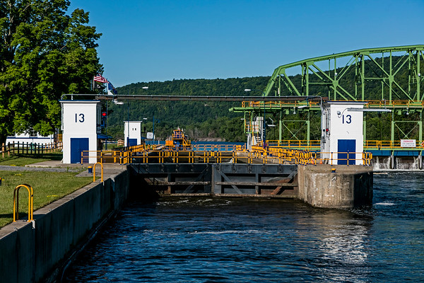 Lock#13; Mohawk River; New York State; Randall; USA